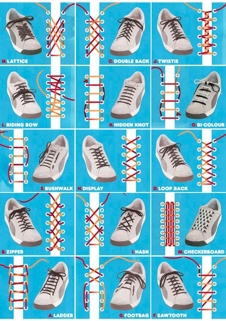 0a762f98 Как зашнуровать кроссовки, чтобы не завязывать шнурки: основные приемы и  разновидности