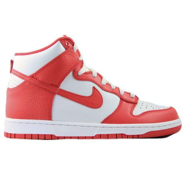 Кеды Nike Dunk High action red/sail