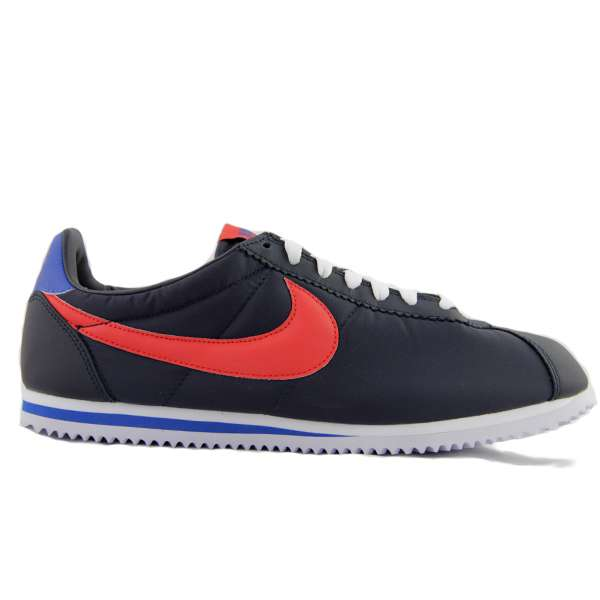 Кеды Nike Cortez Light Nylon dark obsidian