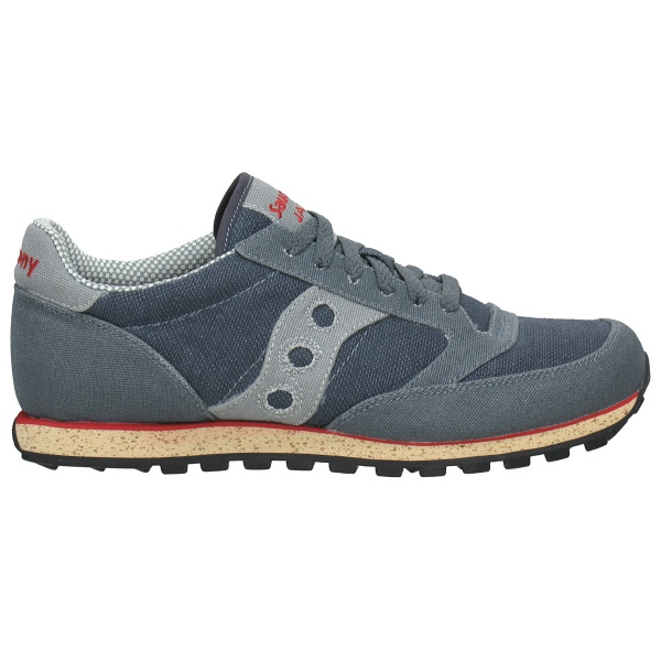 Кеды Saucony Jazz Low Pro Vegan grey/red